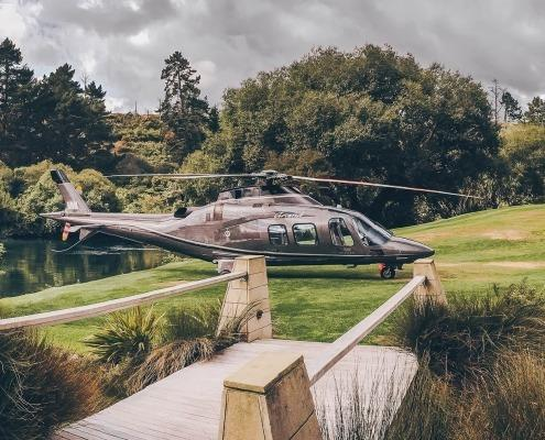 Agusta 109 Grand at Huka Lodge