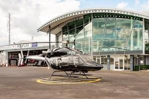 Bell 427 at Mechanics Bay
