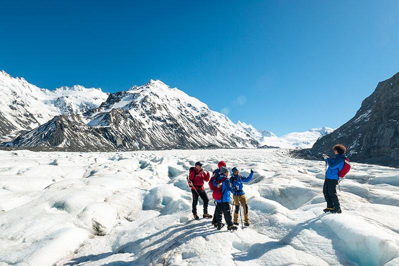 Mt. Cook Glacier Guiding