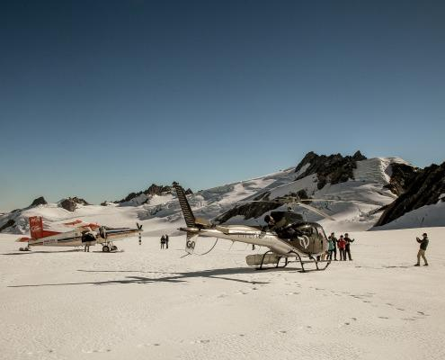 Ski Plane and INFLITE Helicopter