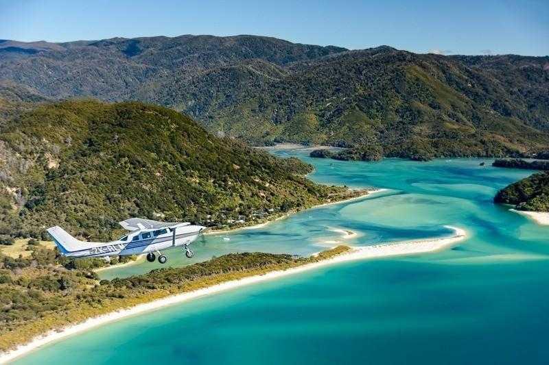 Scenic Flights Nelson Tasman Plane