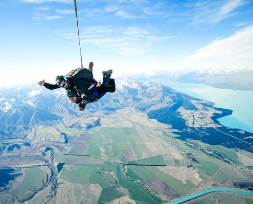 Skydiving Mt. Cook