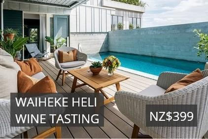 Waiheke Heli Wine Tasting deals