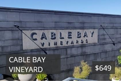 Cable Bay Vineyard voucher image