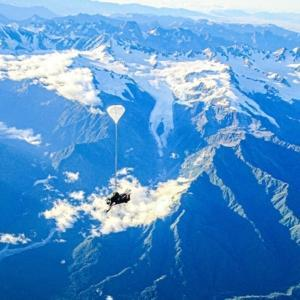 Skydive over Franz Josef & Fox Glacier