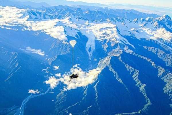 Skydive over Franz Josef & Fox Glacier