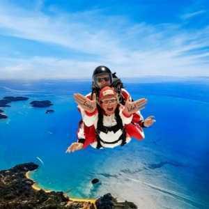 Tandem skydive at skydive Abel Tasman