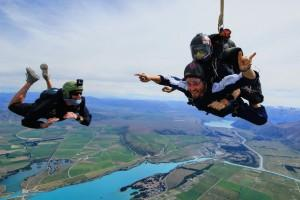 Tandem Skydive from Skydive Mt.Cook