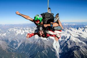 Tandem Skydive at Franz Josef & Fox Glacier